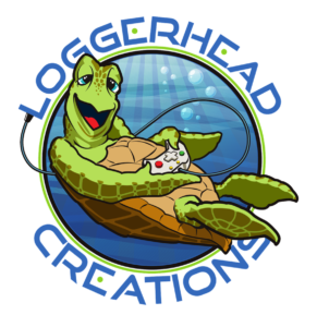 Loggerhead Creations St. Augustine video game truck logo